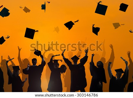 Celebration Education Graduation Student Success Learning Concept