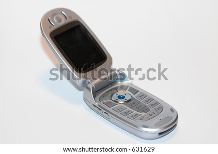 Cell phone cellular - stock photo