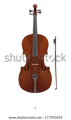 Cello - stock photo
