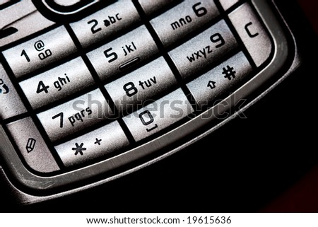 Cellular keypad