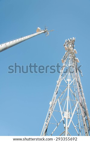 Cellular tower - stock photo