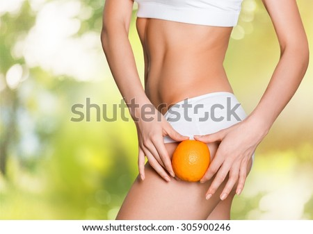 Cellulite. - stock photo