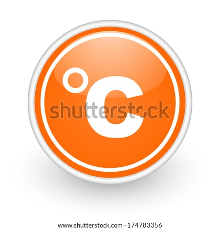 celsius icon - stock photo