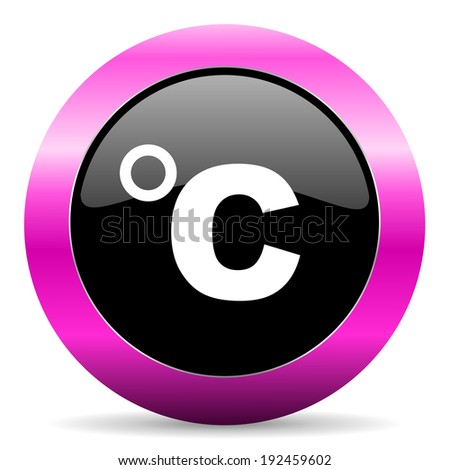 celsius pink glossy icon