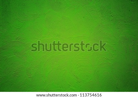 cement green grunge paint background - stock photo