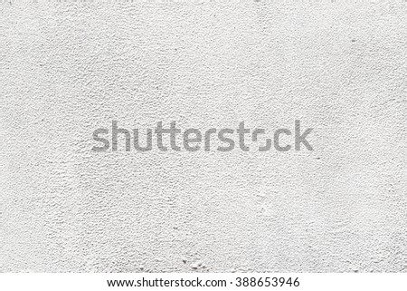 cement plaster wall white background - stock photo