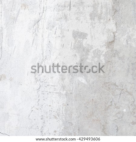Cement wall background with white and gray color - stock photo