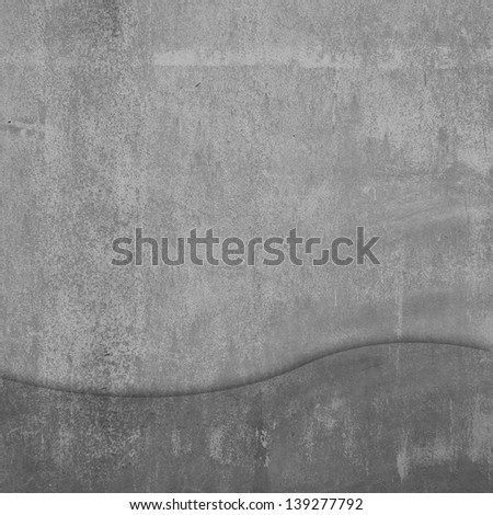 Cement wall texture for background - stock photo