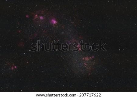 Centaurus A Galaxy - stock photo