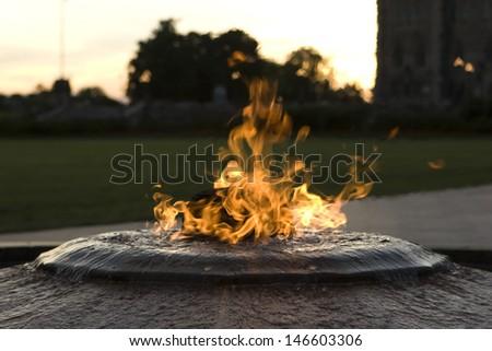 Centennial Flame Ottawa - stock photo