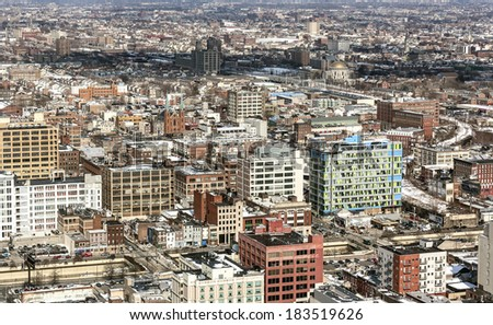 Center City Philadelphia - stock photo