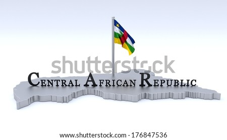 Central African Republic - stock photo
