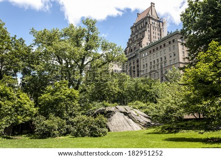Central Park, New York City - stock photo