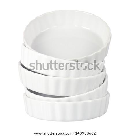 Ceramic Quiche Pan Non sharpen file - stock photo