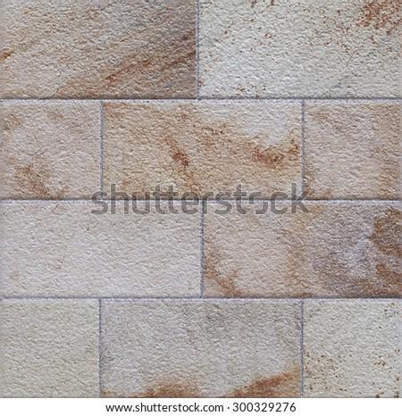 ceramic tile background - stock photo