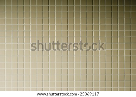 Ceramic tiles a mosaic - stock photo