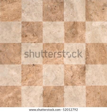 Ceramic tiles beige mosaic - stock photo