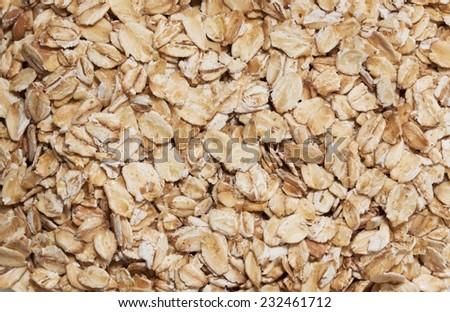 cereal macro - stock photo