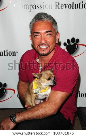 Cesar Millan at a Press Conference For JDHF Animal Advocacy, Four Seasons Hotel, Beverly Hills, CA. 09-23-10