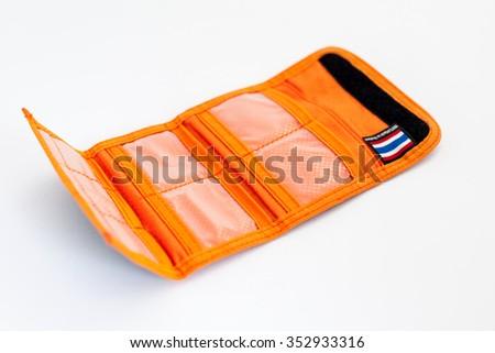 CF Card case - stock photo