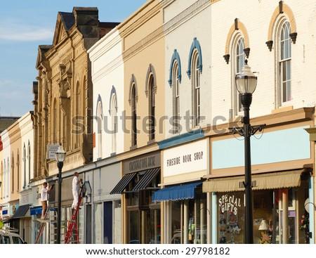 """Kenneth Sponsler's """"Street scenes"""" set on Shutterstock"""