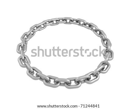Chain concept - stock photo