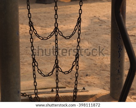 Chain Link - stock photo