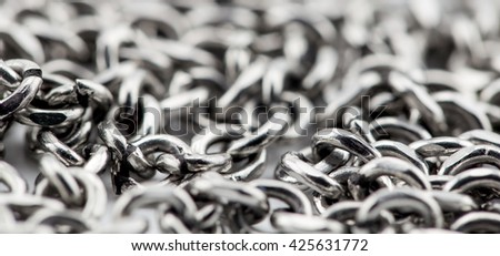 chain texture background
