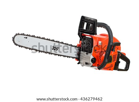 Chainsaw. isolated