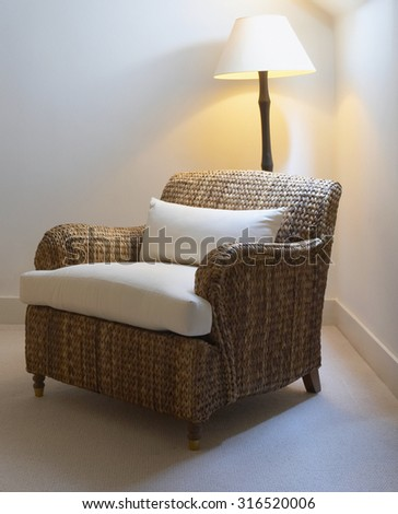 chair and Living room interior - stock photo