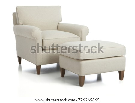 Chair Ottoman Sets Living Room Lounge Stock Photo 776265865   Shutterstock