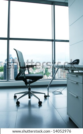 Chair in office - stock photo