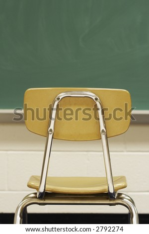 chair in school - stock photo