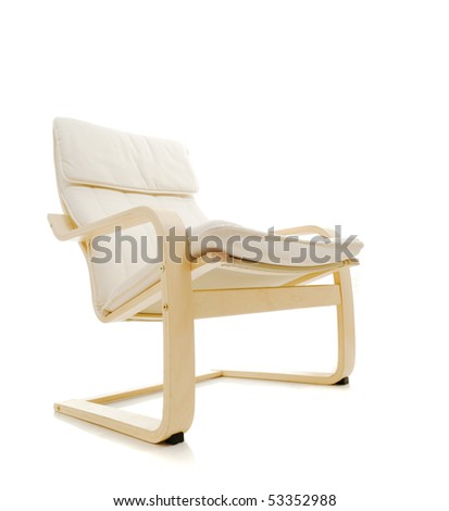 Chair isolated over white