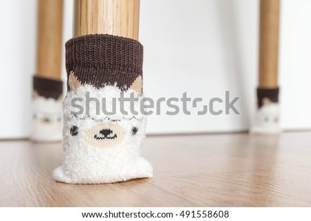 Chair legu0027s socks chair socks or furniture socks. Chair legu0027s sock is helpful for & Chair Legs Socks Chair Socks Furniture Stock Photo (Royalty Free ...