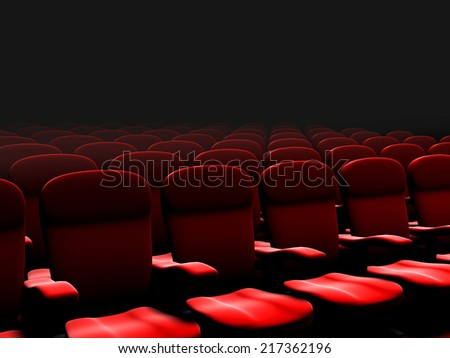 chairs in the cinema