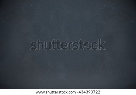 chalkboard texture and empty blank black chalkboard with chalk traces in horizontal - stock photo