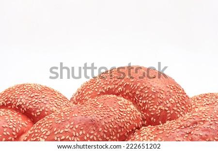 Challah bread - stock photo