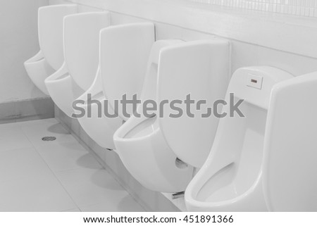 stock photo chamber pots or urinal toilet of a shopping mall 451891366 Coffeecup Water Heater