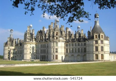 Chambord castle, Loire, France