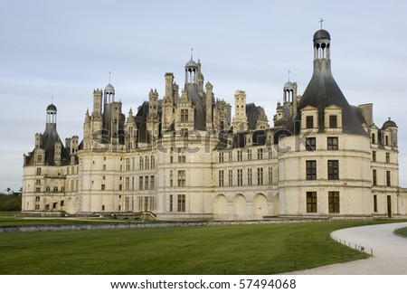 Chambord castle. Loire valley,France.