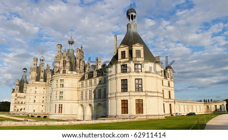 Chambord Castle on the Loire River. France. Europe