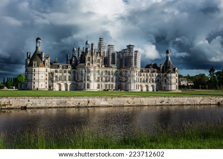 Chambord France - stock photo
