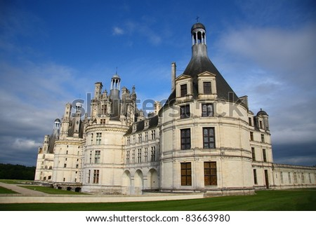 Chambord - the biggest french medieval castle (Loire Valley)