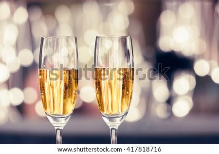 Champagne celebration! - stock photo