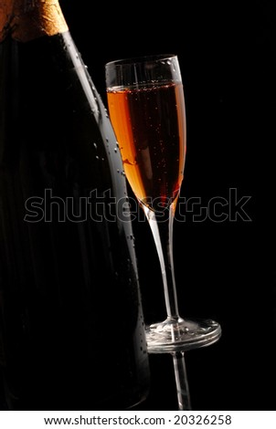 champagne for new year eve celebration