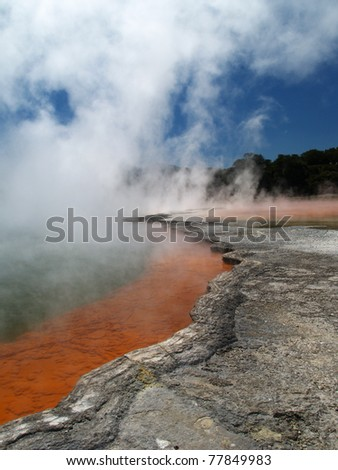 Champagne pool, Waiotapu thermal area, New Zealand