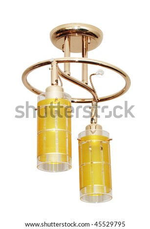 chandelier - stock photo