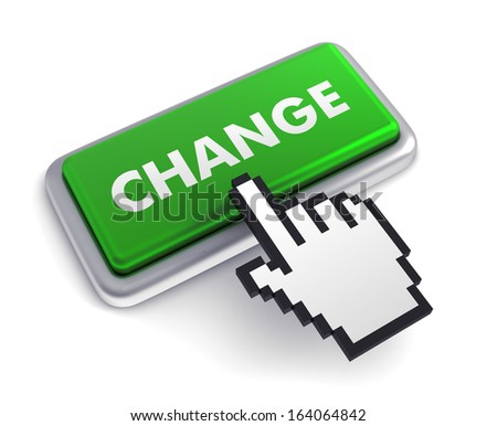 change button  - stock photo
