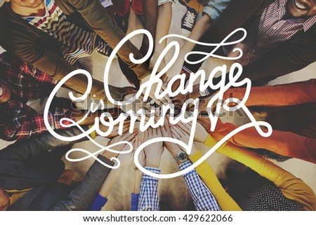 Changes Motivation Development Future Improvement Concept - stock photo
